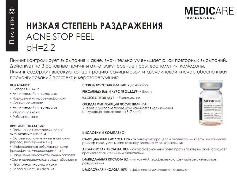 Acne Stop Peel